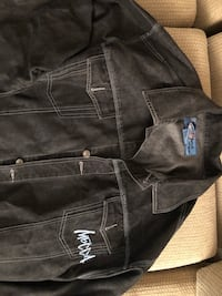 Black Mecca Jean jacket, XL