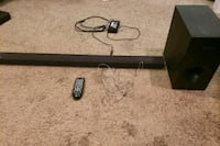 Samsung Sound-Bar and Corresponding Samsung Subwoofer [Like New]