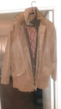 New brown leather jacket large Lancaster, 93534