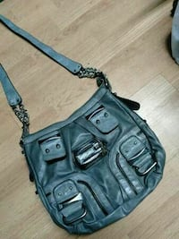 GUESS Grey Leather Purse