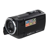 4K Camcorder Video Camera Camcorders 48MP 60 FPS Ultra HD Digital Cameras and Video Recorder with Wifi/Infrared Night Vision Features 3'' LCD Touchscreen