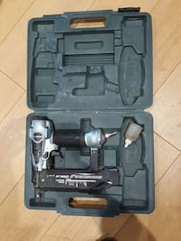 black and gray nailer with case Montréal, H1H 4T6
