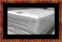 Full plush double pillowtop mattress with box spri Temple Hills