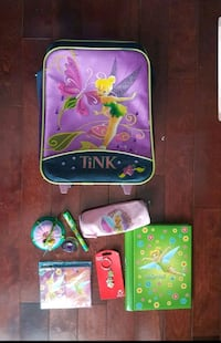 Tinker belle luggage and accessories in excellent condition Brampton, L6W 1V2