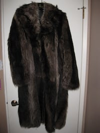 Genuine Raccoon Fur Winter Coat Calgary