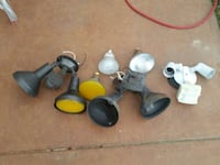 Assorted stage lights