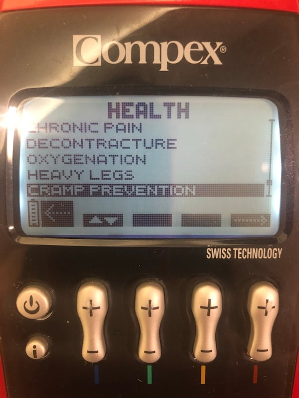 Compex sport Elite Muscle Stimulator TENS unit 9