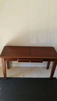 brown wooden 2-layer table Woodbridge, 22192
