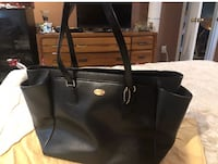 Black Coach leather tote/diaper bag Woodbury, 08096