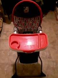 baby's red and black high chair Washington, 20019