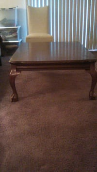 Claw Foot Coffee with 2 End Tables Nashville, 37076