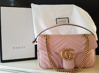 Gucci Pinky GG Marmont Purse, New