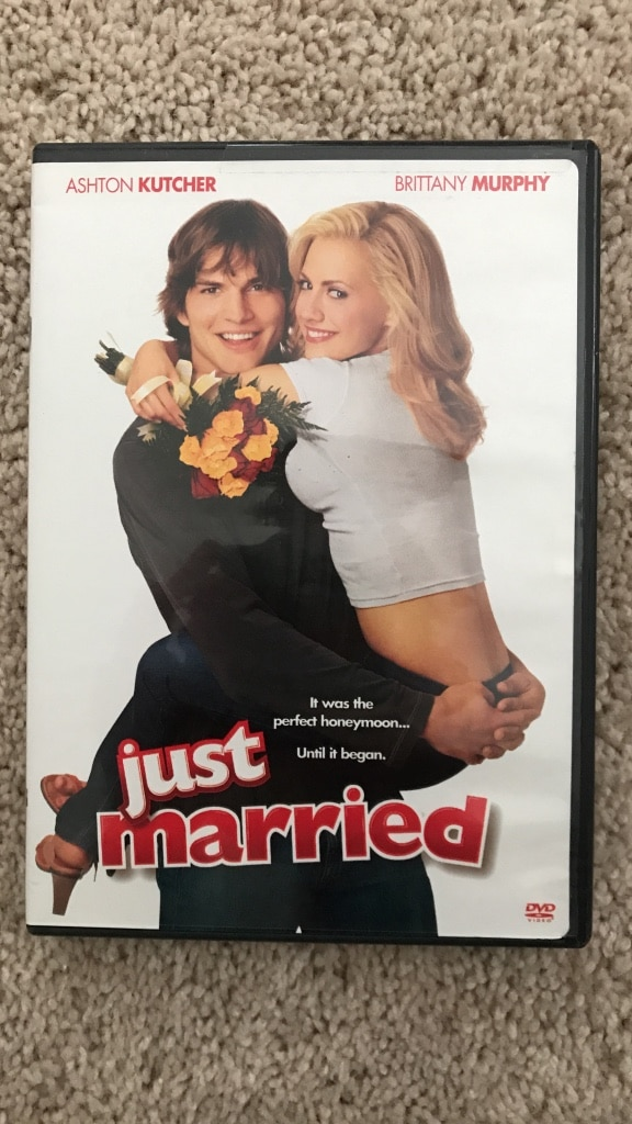 Just Married DVD case, used for sale  Rochester