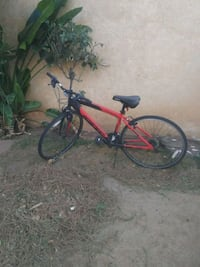 red and black mountain bike Beaumont, 92223