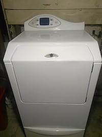 white front-load clothes dryer Kansas City, 64128