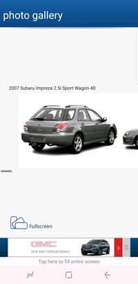 Subaru  - Impreza - 2007 Washington, 20002