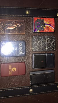 3 Zippos,1 Ronson and 3 other lighters Calgary, T2Y