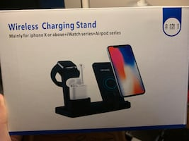 Wireless charging station