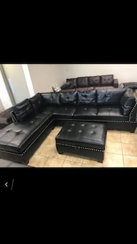 LEXUS SECTIONAL SOFA WITH STORAGE OTTOMAN SALE!!!