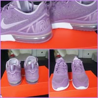 pair of pink Nike running shoes Chicago, 60619