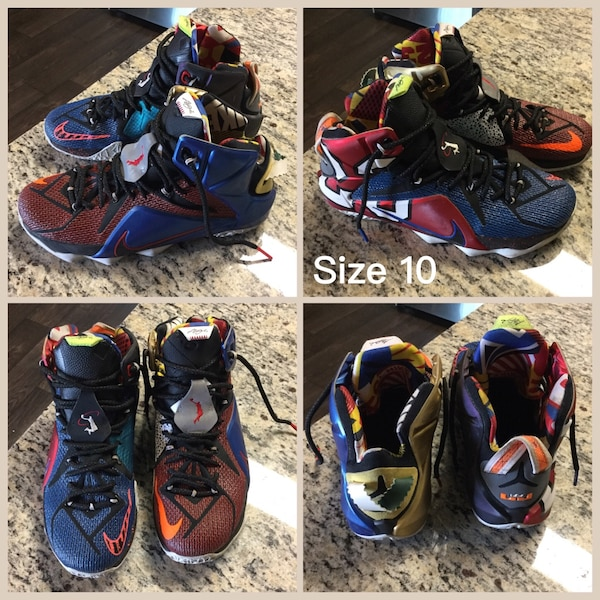 best website b37fe 2f6ce NIKE LEBRON XII 12 SE WHAT THE LEBRON MULTI COLOR Elite Basketball Shoes