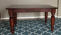 Pottery Barn Amherst Mahogany Table