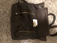 Black leather 2-way bag Lubbock, 79407