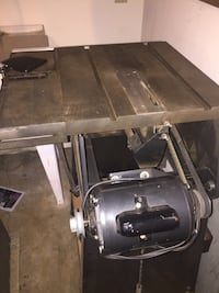Craftsman table saw and jointer combo