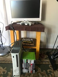 """Xbox 360+games+controller+headset and 19"""" RCA led TV Vancouver, V5R 4G7"""