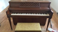 brown wooden framed upright piano Hockessin, 19707