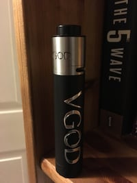 black and gray Vgod tube mod Wilmot, N0B