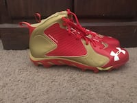 New under amour football cleats size 15 men's  Rio Rancho, 87124