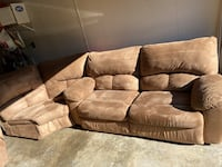 3 Piece Sectional Couch Virginia Beach, 23452