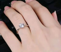 New stainless steel CZ diamond engagement r New Port Richey, 34652