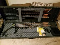 Compound bow with case Port Coquitlam, V3C 6G8