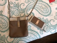 Guess Crossbody Purse and matching wallet