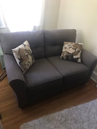 Gray loveseat sofa in perfect condition. brand new, i bought the set and unfortunately my apartment just isn't big enough for the loveseat. $679 brand new Winchester, 22601