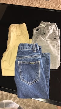 blue, yellow and gray denim jeans West Covina, 91791
