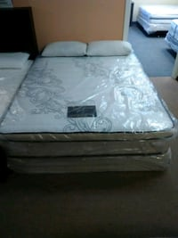 white and gray floral mattress Long Beach, 90805