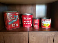 Collectable tins or (obo) Edmonton, T6L 1W9