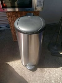 Stainless steal trash can Oxnard, 93036