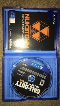 Call of Duty Black Ops 3 PS4 game disc Tallahassee, 32311
