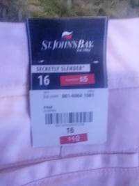 St. John's Bay clothing tag