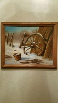 Beautiful oil on canvas painting  Henderson, 89014