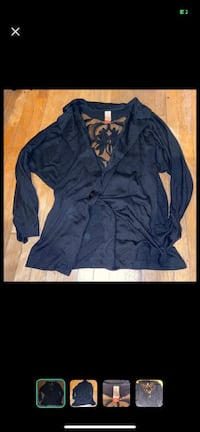 Black cardigan sz (M)