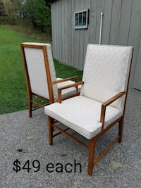 Vintage Teak Chairs *Delivery Available* Hamilton, L9H 5N7