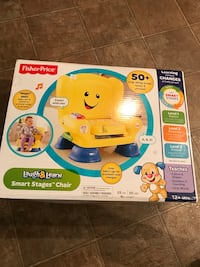 Fisher-Price Laugh & Learn Smart Stages Chair box Bristow, 20136