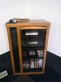 TV, Stereo, Music, Game Cabinet. 25.00 or OBO Bowie, 20715