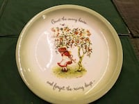 Holly Hobby collectible plate 679 mi