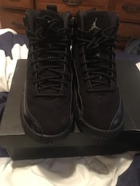 Pair of black air jordan basketball shoes Germantown, 20876